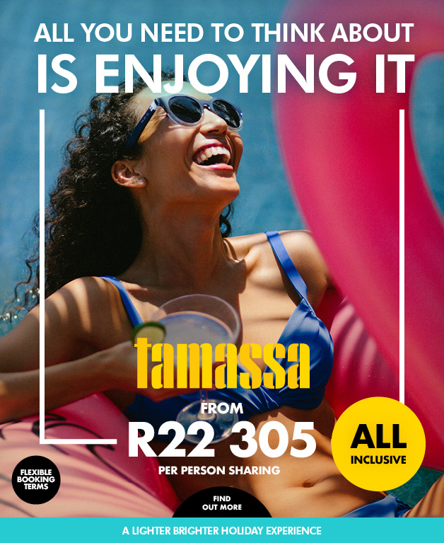 TAMASSA - All you need to think about is enjoying it